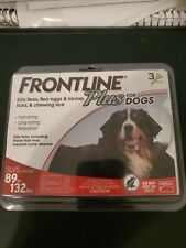 Frontline Plus for Extra Large Dogs 89-132 lbs - 3 month