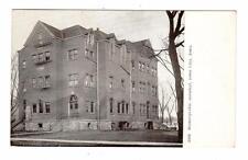 IA - IOWA CITY 1908 Postcard HOMEOPATHIC HOSPITAL