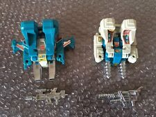 Hasbro Transformers G1 Jumpstarters Topspin and Twin Twist  Loose Complete