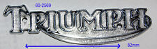 TRIUMPH 60-2569 SERBATOIO BADGE EURO TANK 71-78 emblema TRIUMPH LOGO CROMO