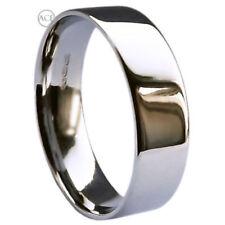 Anelli di metalli preziosi senza pietre in oro bianco misura anello 16