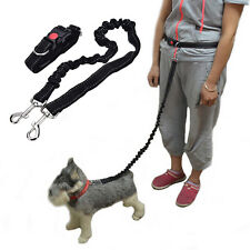 Elastic Belt Running Sports Walking Pet Collar Rope Hand Free Waist Dog Leash OZ