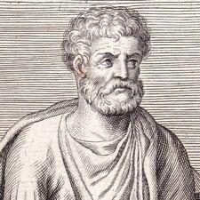Portrait XVIIe Marcus Mettius Epaphroditus Grammaire Chaeronea Grèce Grammar