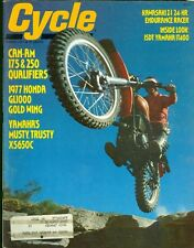 1977 Cycle Magazine: Can-Am 175 & 250 Qualifiers/Honda GL1000 Gold Wing