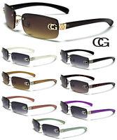 CG Womens Sunglasses Fashion Designer Rimless Celebrity Shades New dg 489