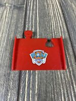 Paw Patrol Rubble Mountain Rescue Track Replacement Piece Red Part