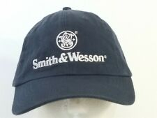 Smith & Wesson Blue Ball Cap Hat Military Strapback
