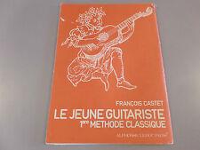 LE JEUNE GUITARISTE 1ere METHODE CLASSIQUE
