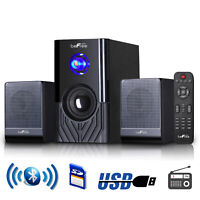 NEW BLUETOOTH 2.1 HOME THEATER TV SURROUND SOUND SPEAKER SYSTEM FM USB/SD REMOTE