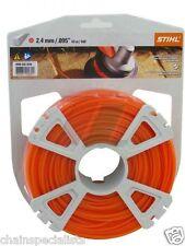 Véritable Stihl Débroussailleuse Câble 2.4mm x 86m Rond Orange câble