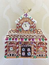 Christopher Radko Candy Station Gingerbread Sweets Glass Ornament