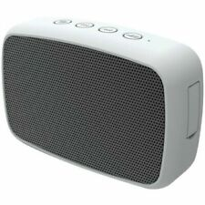 Gray Color Portable Rechargeable Wireless Bluetooth Speaker w/ 3.5mm Aux Cable