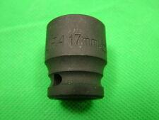 Douille impact 17mm 1cm embout carré, Hexagonal Simple, chrome vanadium acier