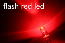 X 100 a0703 flash 3mm red led, automática intermitente rojo LEDs. led ogel LED