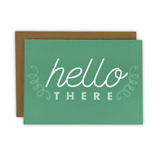Hello There Everyday Set of 10 Note Cards, Boxed Stationery Set