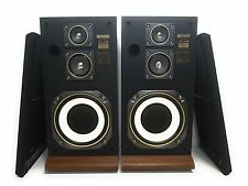 Vintage Fisher Studio Standard STV-410M 60 watt Wooden Cabinet Tower Speakers