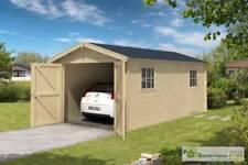 Blockbohlen garagen aus Holz