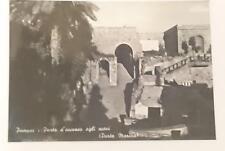 Vintage post card Postcard - Pompei Pompeii - Marina Gate, Italy 1950's