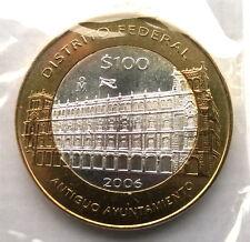 Mexico 2006 Guerrero 100 Pesos Bimetal Silver Coin,UNC
