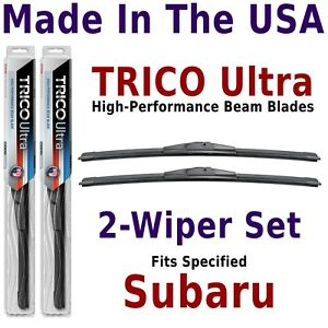 Buy American: TRICO Ultra 2-Wiper Blade Set fits listed Subaru: 13-14-14