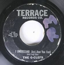 50'S & 60'S 45 The G-Clefs - I Understand (Just How You Feel) / Little Girl I Lo