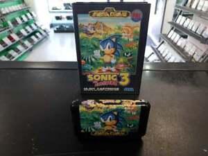 Sonic the Hedgehog 3 Sega Mega Drive ASIAN PAL Fast Delivery