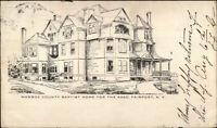 Fairport NY Monroe County Baptist Home c1905 Postcard