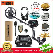 Metal Detector Deep Ground Gold Finder Lcd Display With Waterproof Search Coil New