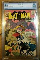 Batman #142 1st Appearance of Ancient Mariner CBCS 3.5 OW/White Pages