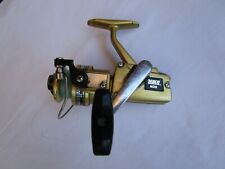 VINTAGE ZEBCO 6010 GOLD SPINNING FISHING REEL WORKS