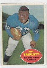 1960 TOPPS FOOTBALL MEL TRIPLETT #73 GIANTS EX+ *61420