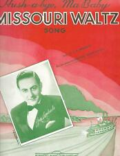"""HUSH-A-BYE, MA BABY"" Vintage 1941 Piano SHEET MUSIC & WORDS--GUY LOMBARDO"