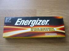 10 x Genuine Energizer AA Industrial Alkaline 1.5V Batteries - Dated 12.2027