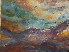 Tableau peinture Huile sur toile 41cm/33cm Marine  Picard  ART Oil painting