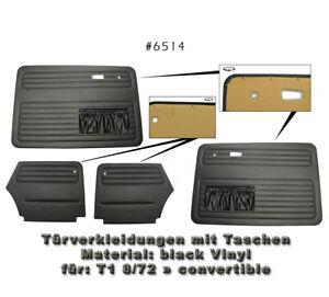 VW 6514 Käfer Innen Seiten + Türverkleidung  »Cabriolet