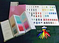 COLOUR ANALYSIS SUMMER PALETTE FABRIC SWATCH & WARDROBE GUIDE