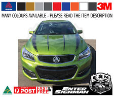 VF HOLDEN Commodore ESM MUSCLE BONNET Decals Variation 2 - Avery Supreme Wrap