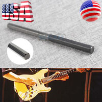 Guitar Fret Crowning File Dressing File W/ 3 Size Edges Luthier Tool Steel T12