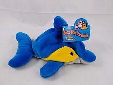 """Flip Dolphin Porpoise Bean Plush 8"""" Global Trading Stuffed Animal"""