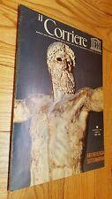 Rivista IL CORRIERE 5 Maggio 1972 ARCHEOLOGIA SOTTOMARINA Unesco