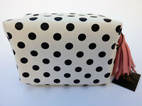 NEU DAMEN CLUTCH KOSMETIKTASCHE MAKE UP SCHMINK-TASCHE ROCKABELLA DOTS PRIMARK