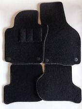 Autoteppiche / Fußmatten für Seat Leon II 1P  Bj.2005-2012 schzwarz Nadelfilz