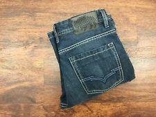 BUFFALO JEANS Boot Cut Mid Rise Dark Wash Blue Denim Jeans Girl's Size 12