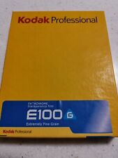 Kodak Ektachrome E100G 4x5 Film 10 Sheets 02/2014