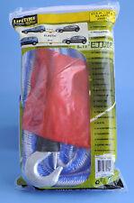 Abschleppseil 2800kg dehnbar elastisch Pannenhilfe Seil Abschleppen Starthilfe