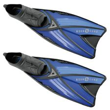 Aqua Lung Grand Prix Swimming Snorkelling Training Flex Travel Fins Flippers 4to5