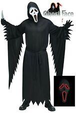 Ghostface Scream Costume Adults Licensed Luminous Mask Scream Fancy Dress