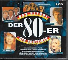V/A - Das GEFÜHL der 80 -er ACHTZIGER JAHREN (2 CD) 39TR Roland Kaiser 1998