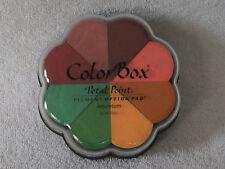 Clearsnap Colorbox Pinwheel 8 Colour Petal Pigment Option Pad Arboterum Acidfree