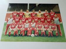 LIVERPOOL FC 1985-86 KENNY DALGLISH BOB PAISLEY PRESS OR CLUB ISSUED PHOTOGRAPH